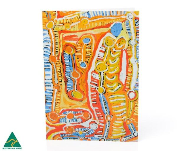 Aboriginal card-ozkoi_アボリジナルアート