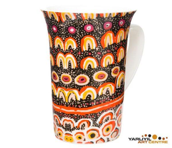 Ozkoi Aboriginal art Mug cup