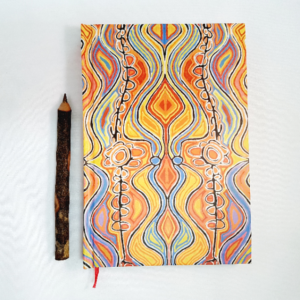 Ozkoi Aboriginal art notebook4