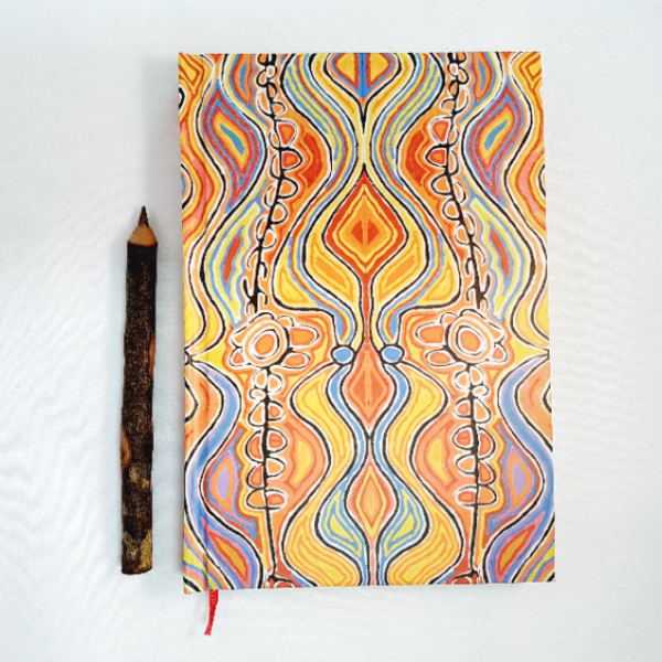 Ozkoi Aboriginal art notebook4