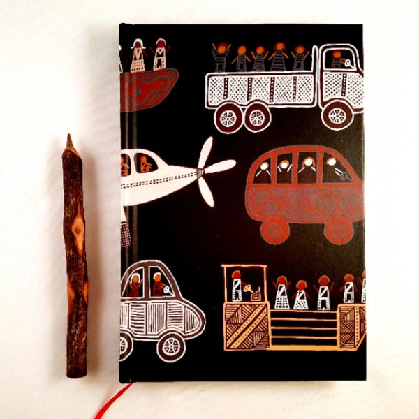 Ozkoi Aboriginal art notebook Ozkoi