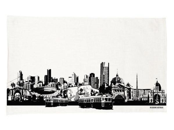 Ozkoi Melbourne City Tea Towel