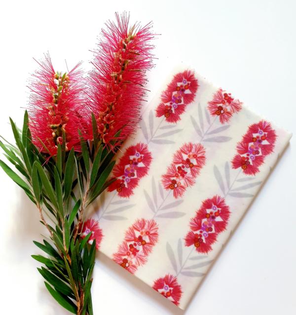 Beeswax wrap Ozkoi Bottlebrush