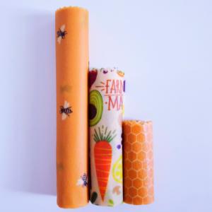 Ozkoi Organic-Beeswax wrap S-size
