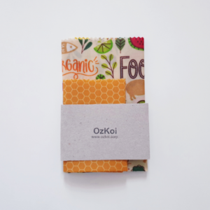 Organic beeswaxwrap Ozkoi